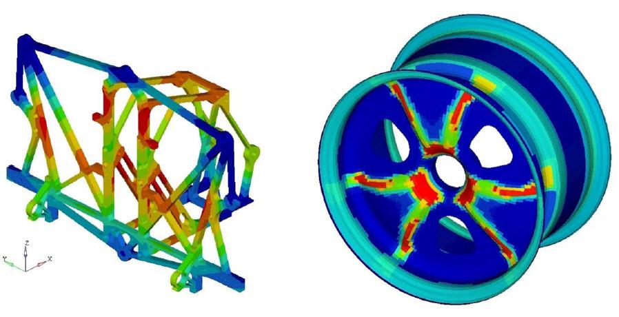 Lighter, Better, Faster – HyperWorks in the Construction of Formula Student Cars