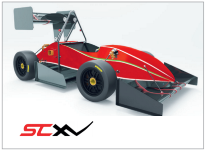 Student Racing Team from Politecnico di Torino uses HyperWorks to Improve Weight, Manufacturability, and the Performance of Race Car