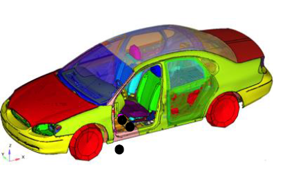 Reducing Floor Vibrations at Driver seat Locations of Body-in-White