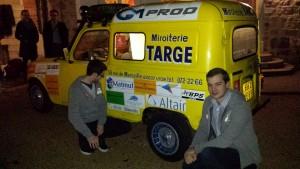 voiture targe team