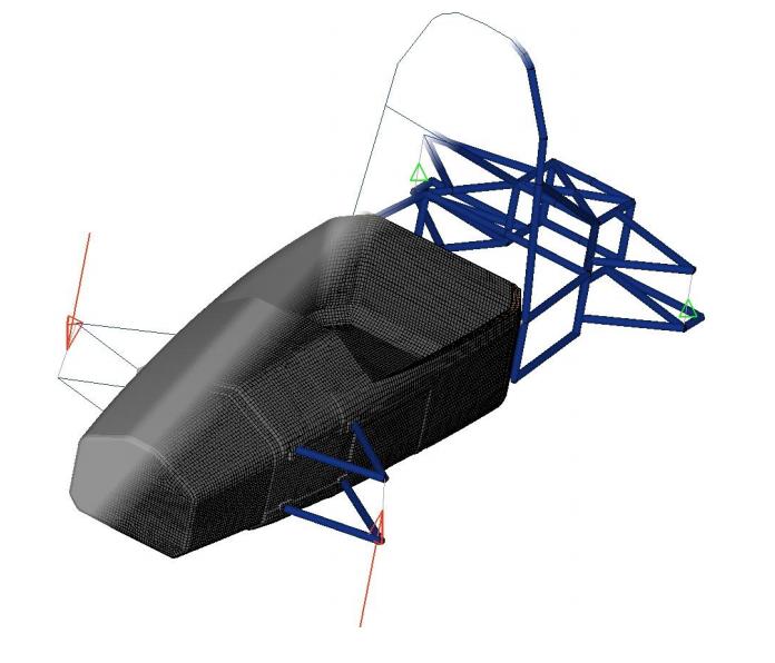 HyperWorks 11.0 Composite Optimization Tutorial – Formula-Student-Monocoque