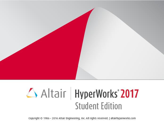 学生向け無償版HyperWorks Strudent Edition