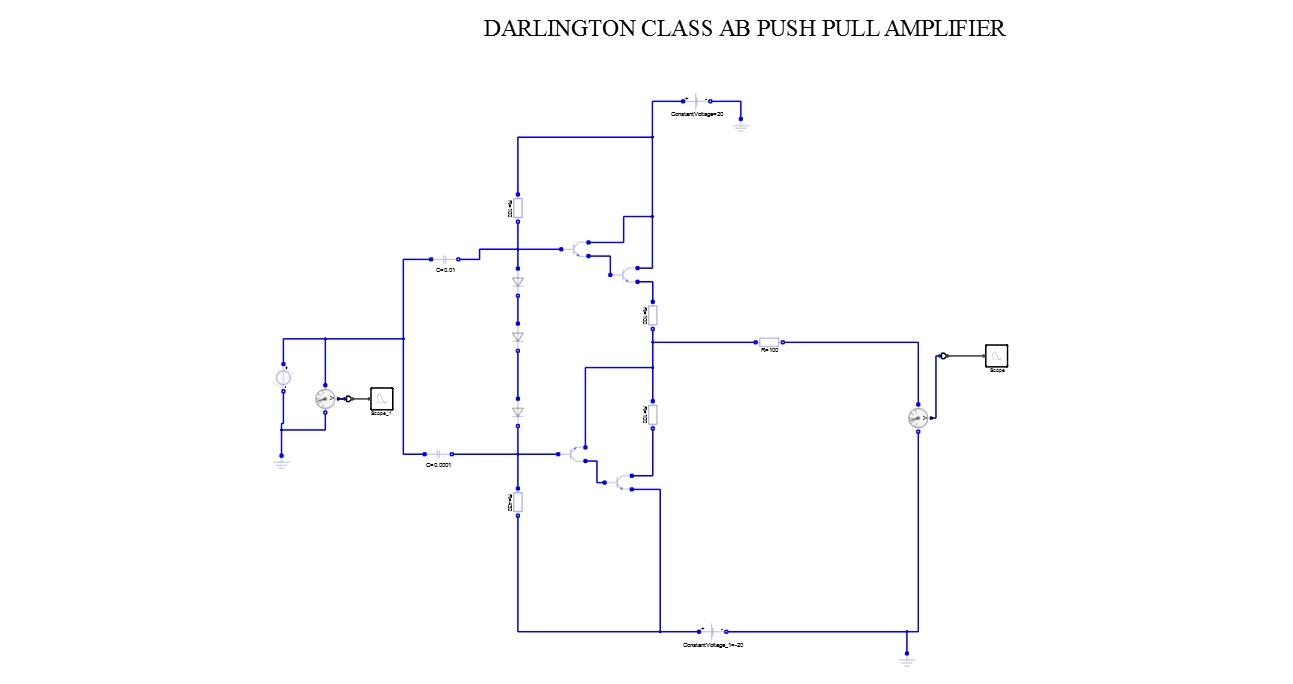 Darlington Class AB PushPull Amplifier - Altair University