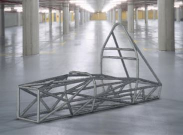 Linear static analysis of a student car tube frame (I)