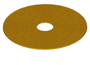 Linear Static Analysis Tutorial of a Rotating Disc