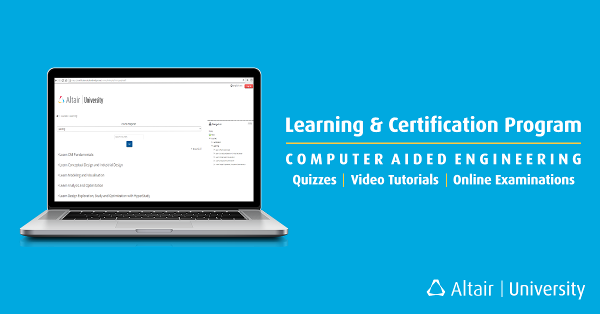 Altairs Learning Certification Program Features And Benefits