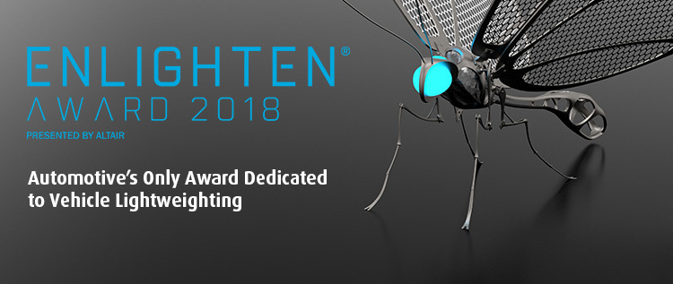 Submit your promising concepts for the future of automotive lightweighting!