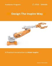 Free eBook: Design the Inspire Way – A Practical Introduction to solidThinking Inspire