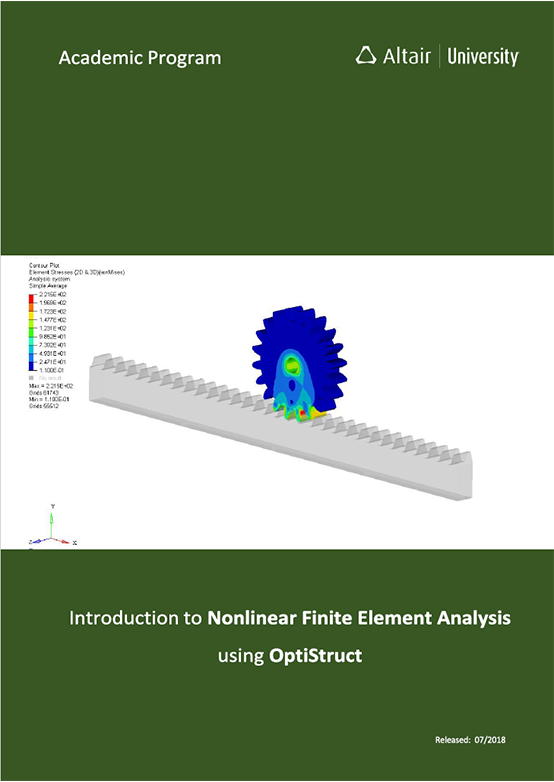 FREE eBook: Introduction to Nonlinear Finite Element Analysis using