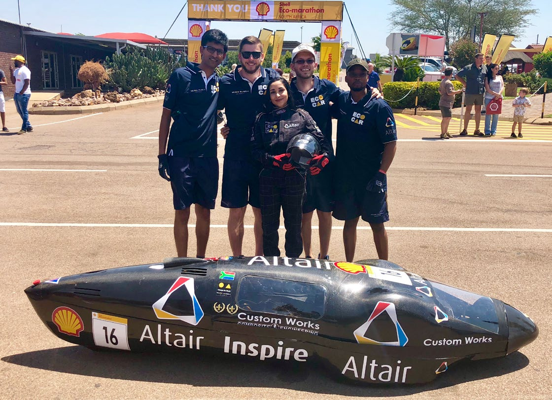 Eco-Car champs win again - Altair University