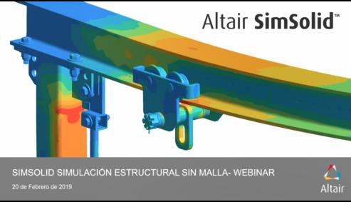 SimSolid Simulación estructural sin malla