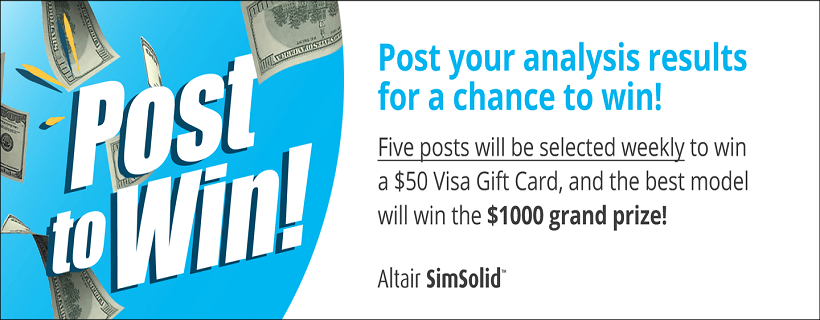 SimSolid Social Giveaway