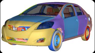 Toyota Yaris Finite Element Model Validation