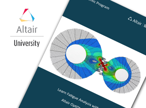 FREE eBook: Learning Fatigue Analysis with Altair OptiStruct