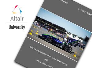 Free eBook: Learn Aerodynamic Analysis of Automobiles with Altair ultraFluidX