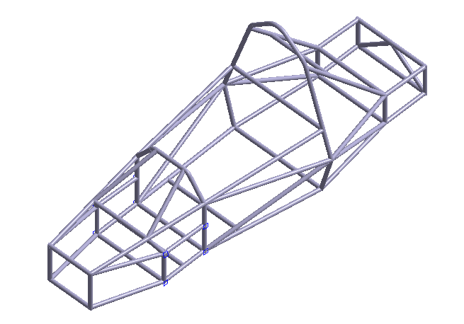 Student Race Car Frame Analysis with SimSolid