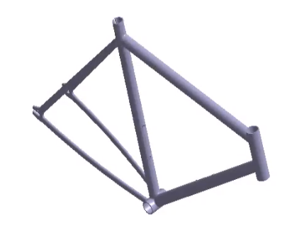 Analysis of a Bike Frame with SimSolid