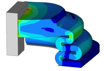 OptiStruct Não Linear: Capacidades e Evoluções