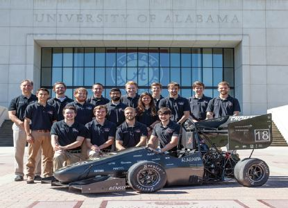 Crimson Tide (University of Alabama Team) Shoots to the Top with Altair Tools