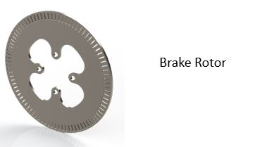 Optimization and Analysis of a Student Car Brake Disk / Rotor Component