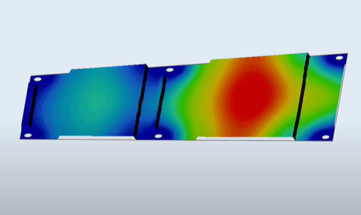 Topography Optimization of a Baja Student Car Belly Pan with Altair Inspire