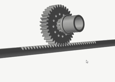 Static Structural Analysis of a Student Baja Car Steering Rack and Pinion in Altair Inspire