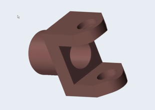 Topology optimization of a Student Car Yoke Component using Altair Inspire