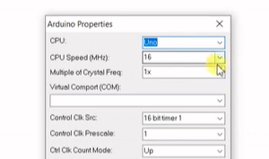 How to Select 'Arduino Config' Block and Properties