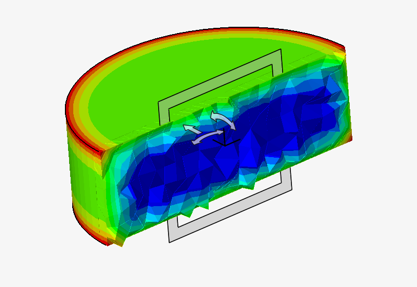 2D Transient Heat Transfer Simulation Using Altair SimLab
